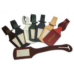 Wholesale Customized Leather Luggage Tag