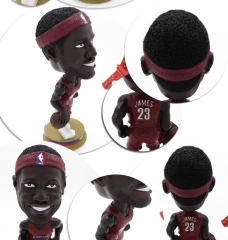 Wholesale Polyresin Bobble Head JAMES Bobble Head