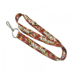 Promotinal Cheap Heated Transfer Lanyard with Logo