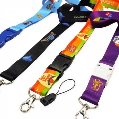 Wholesale Cheap Custom Sublimation Lanyard