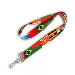Heated Transfer ID Card Holder Lanyard Gifts for Sale