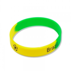 Custom production wholesale price silicone wristband