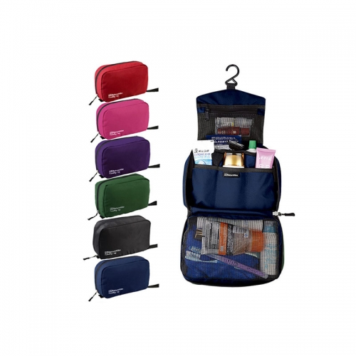 Pocket-trip Professional Beauty Display Hanging Travel Toiletry Bag