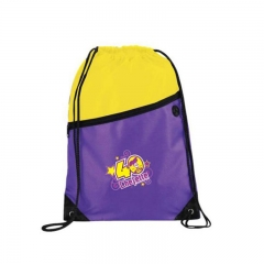 Customized Logo Branded Promotional Drawstring Bag