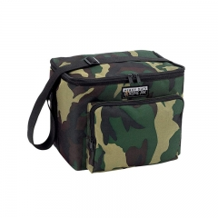 Camo Foldable Custom Insulated Cooler Promotional Cooler Bag