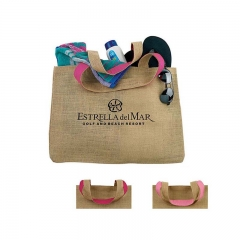 Eco-friendly Logo Customized Jute Bag CustomizeJute Bag