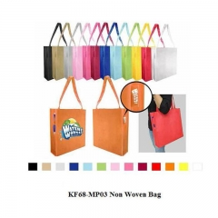 Multcolor promotional customized nonwoven bag