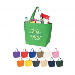 2016 New design promotional nonwoven shopping bag