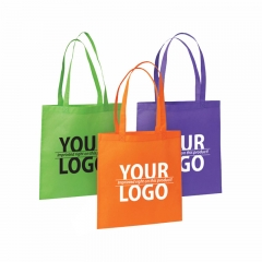 Recycled custom foldable promotional non woven shopping bag