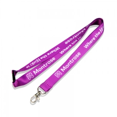 Neck Lanyard with Whole Sale Custom Polyester