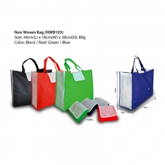 Recycled nonwoven bag shopping bag with custom logo