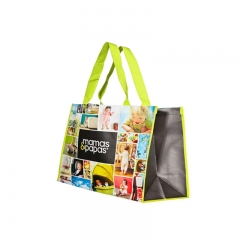 Hot Sell Promotion Nonwoven with Lamination Shopping Bag