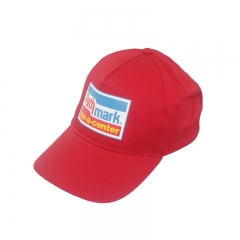 Fashional 5 panel baseball cap silk screen print
