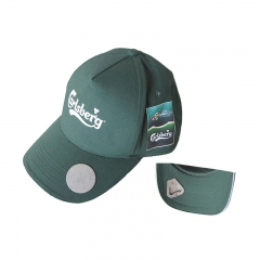 Fashional 6 Panel Baseball Cap with Beer Bottle Opener