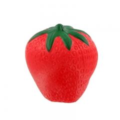 High Qualiy Cheap Strawberry Stress Ball Custom Stress Ball