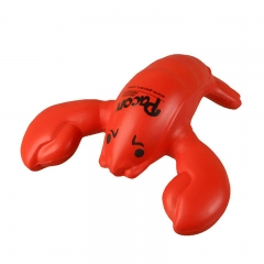 Wholesale Promotional  Lobster PU Stress Ball Made in China