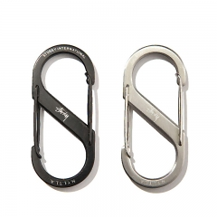 Custom High Quality S Shape Metal Carabiner