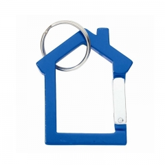 House Shaped Standard High Quality Aluminum Carabiner for Pr