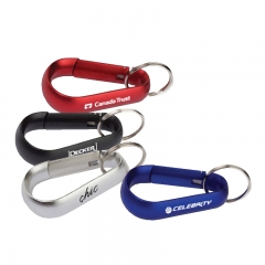Top Quality Customized Carabiner with keyring