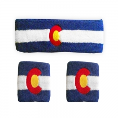High Quality Sports Cotton Sweatband Made in China