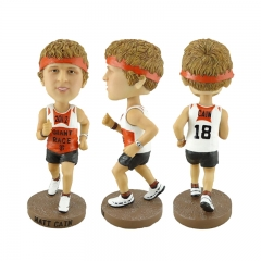 Wholesale Polyresin Bobble Head Playing Sports Bobble Head