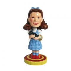High Quality Resin Custom Wholesales Little Girl Bobble Head
