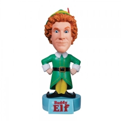Polyresin Buddy Elf Bobble Head, Resin Bobblehead Gifts