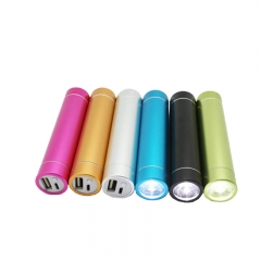 China wholesale Cheap 2600 mah portable led torch light powe