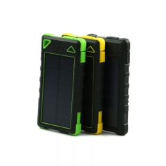 Solar Dual USB Optional Capacity Power Bank