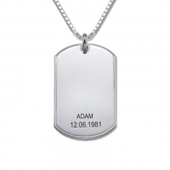 Customized Aluminum Hang Decorations Dog Tag Made in China