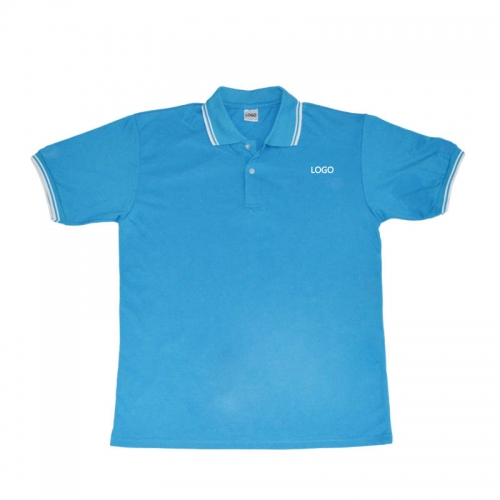 100%Cotton Designer Tshir Polo shirt with silk screen print
