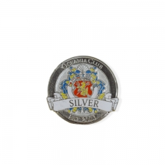 Promotional customize label pin personalize badge