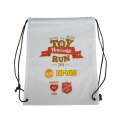 Popular Best Selling Promotional Polyester Drawstring Bag Cu