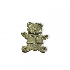 Custom lovely bear Label pin