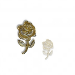 Custom flower shaped Label pin
