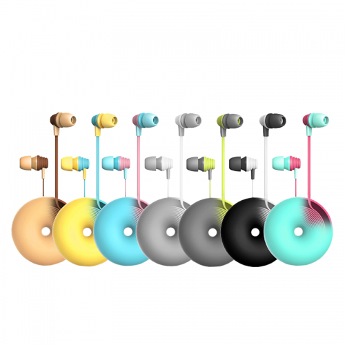 Colorful teenager gift,promotion gift,ear phone for wholesle