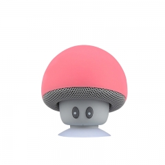 2016 Mini Bluetooth Speaker Mushroom Style with Mic Suction