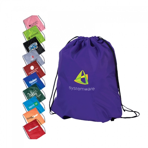 Popular Best Selling Promotional Polyester Drawstring Bag,Customised Non woven Drawstring bag