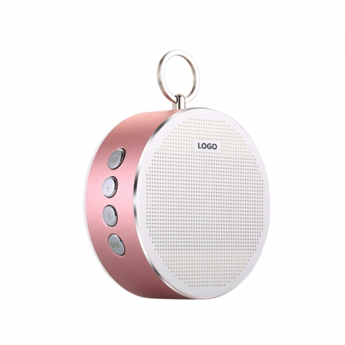 Mini USB Bluetooth Speaker, Lanyard Hifi Wireless Mobile Phone LED Speaker