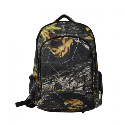 600D Camo backpack customer printing backpack