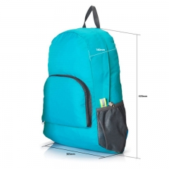 Hicking backpack with customized design .
