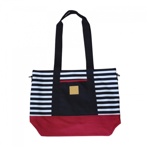 Luxury design Canvas tote bag shopping bag with customized design.