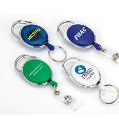 Retractable pull reel badge holder for promotion,pull reel b