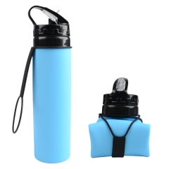 750ML Silicone Collapsible Bottle