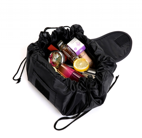 Multi function make up bag drwastring bag with customized design