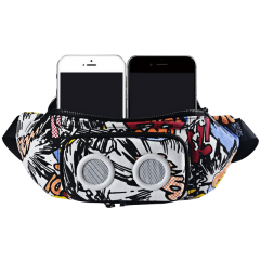Fanny Pack Speakers ,waist bag with Bluetooth speaker inside