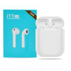 i11s Wireless Ear Pods with Charging Case